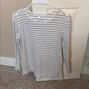 BP striped long sleeve tee